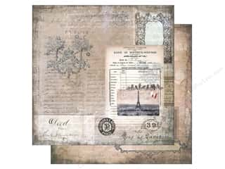 "Melissa Frances Captions: Melissa Frances Paper Glamour & Grunge 12""x 12"" The Old World (25 pieces)"