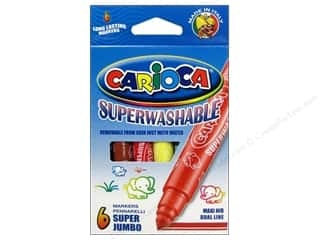 Sale Drawing: Carioca Markers Superwashable Jumbo