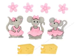 Summer Camp $5 - $9: Jesse James Dress It Up Embellishments The Mice Girls