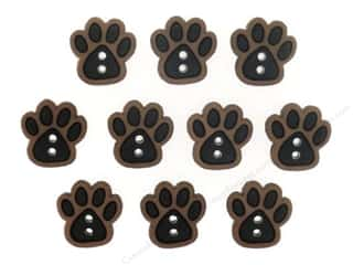 Jesse James Buttons Animals: Jesse James Dress It Up Embellishments Sew Cute Paws