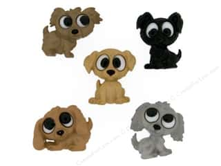Jesse James Embellishments Playful Puppies