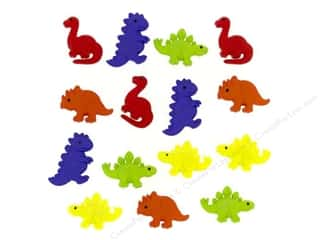 Jesse James Buttons Animals: Jesse James Dress It Up Embellishments Tiny Dinos