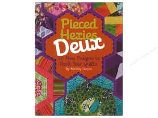 Stars: Kansas City Star Pieced Hexies Deux Book