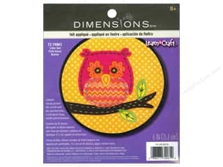Dimensions Felt Art Kit Little Owl