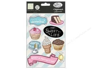 "Ornaments Melissa Frances Vinatage Embellishments: Melissa Frances Embellishments Sweet Life Chipboard Accents 5""x 7"""