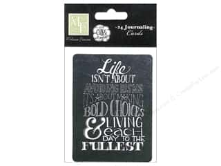 Melissa Frances Captions: Melissa Frances Embellishments Chalk Talk Journaling Cards