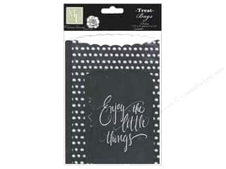 Page Protectors Black: Melissa Frances Embellishments Chalk Talk Treat Bags