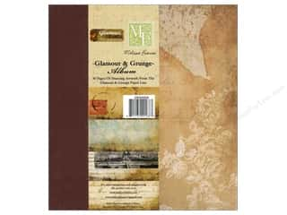 Scrapbook / Photo Albums Projects & Kits: Melissa Frances Album Glamour & Grunge Kit