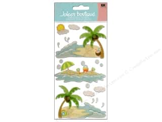 Beach & Nautical EK Jolee's Boutique: Jolee's Boutique Vellum Stickers Waves and Sand