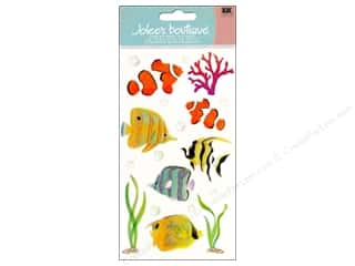 Beach & Nautical EK Jolee's Boutique: Jolee's Boutique Vellum Stickers Tropical Fish