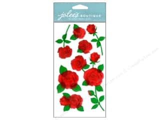 NEW EK Jolees Boutique Embellishments: Jolee's Boutique Embellishments Vellum Roses