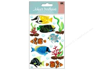 Beach & Nautical EK Jolee's Boutique: Jolee's Boutique Stickers Large Tropical Fish