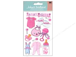 Bibs Hearts: Jolee's Boutique Stickers Baby Girl