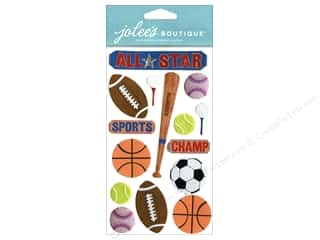 Sports $2 - $3: Jolee's Boutique Stickers Large All Star