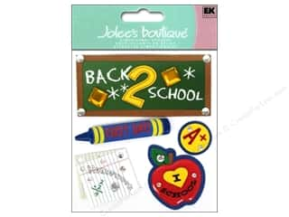 Back To School Papers: Jolee's Boutique Stickers Back 2 School