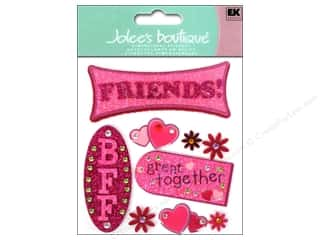 3 Pairs: Jolee's Boutique Stickers Friends