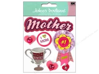 Mothers Buttons: Jolee's Boutique Stickers Mother