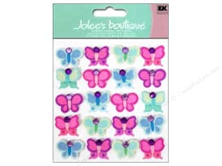 Jolee's Boutique Stickers Bright Butterflies Repeats