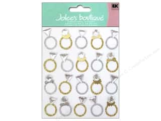 EK Success Wedding: Jolee's Boutique Stickers Rings Repeat