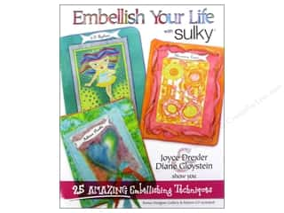 Books & Patterns Computer Accessories: Sulky Embellish Your Life With Sulky Book