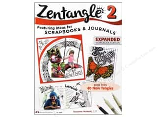 Design Originals $2 - $7: Design Originals Zentangle 2 Expanded Edition Book