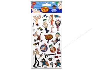 Licensed Products Disney: EK Disney Stickers Phineas & Ferb