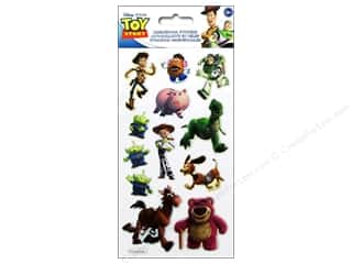 Toys Brown: EK Disney Puffy Stickers Toy Story 3