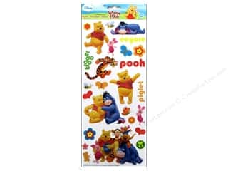 Licensed Products Disney: EK Disney Stickers Large Pooh and Friends