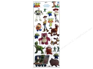 Toys Black: EK Disney Stickers Large Toy Story 3