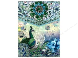 Office Punch Studio Note Pad: Punch Studio Note Pad Brooch Paisley Peacock