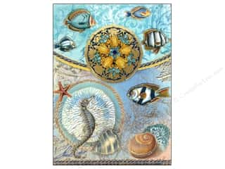 Punch Studio Note Pad Brooch Seascape