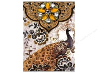 Office Punch Studio Note Pad: Punch Studio Note Pad Brooch Moonlight Peacock