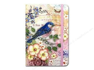 Happy Lines Gifts $4 - $6: Punch Studio Journal Bluebird Garden