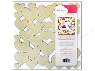 Craft Embellishments Valentine's Day: American Crafts Die Cut Wood Veneer Paper 12 x 12 in. Dear Lizzy Daydreamer