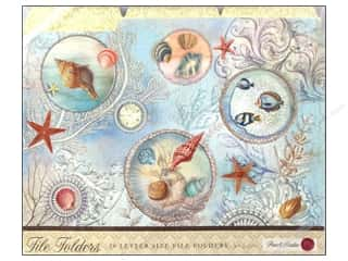 Beach & Nautical $10 - $43: Punch Studio File Folder Seascape (10 pieces)