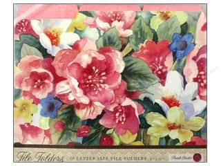 Punch Studio Gifts: Punch Studio File Folder In Bloom (10 pieces)