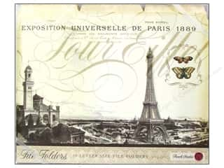 Gifts Vacations: Punch Studio File Folder Tour Eiffel (10 pieces)
