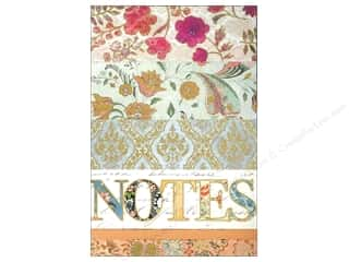 Pads Flowers: Punch Studio Note Pad Large Flip Calico Notes