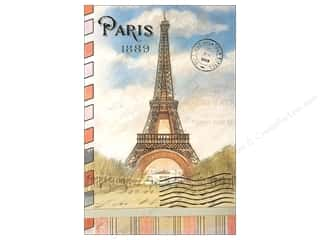 Vacations Gifts & Giftwrap: Punch Studio Note Pad Large Flip Par Avion Paris