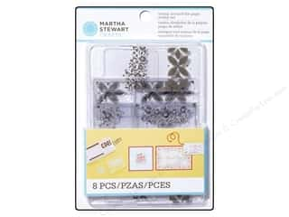 Stamps Stamp Sets: Martha Stewart Stamp Set Stamp Around The Page Bandana & Geometric Flower