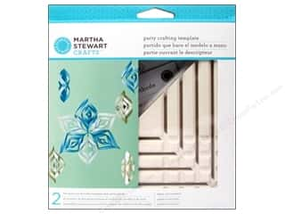 Martha Stewart Tools Template Ornament Triangle Sm