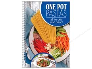 Cooking/Kitchen Books & Patterns: CQ Products One Pot Pastas Book