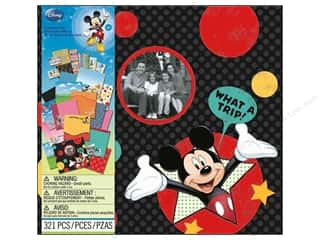 Licensed Products ABC & 123: EK Scrapbooking Kits Disney Mickey Travel