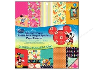 Cards Family: EK Paper Pad Disney Special Mickey Family