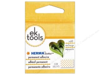 Fall Sale Glue Dots: EK Herma Dotto Permanent Refill 15M