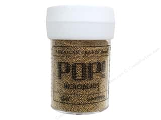 American Crafts Pop! Microbeads 1 oz. Gold