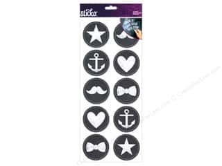 Beach & Nautical $10 - $43: EK Sticko Stickers Chalk Large Icons
