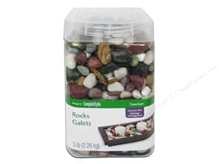 FloraCraft Decorative Rocks 5 lb. Country Mix