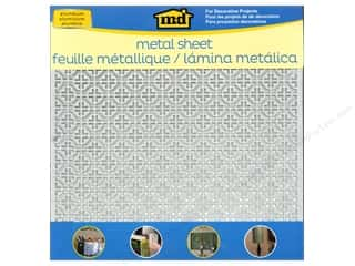 "Metal & Tin Metal: MD Metal Sheets 12""x 12"" Aluminum Mosaic"