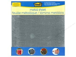 "Metallic: MD Metal Sheets 12""x 12"" Galvanized Steel"